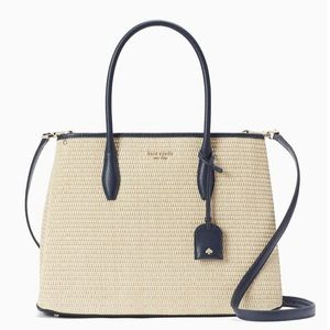 KATE SPADE - STRAW TOTE - NEW